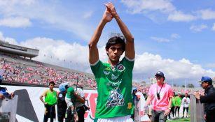 José Juan Macías agradece a la afición de León