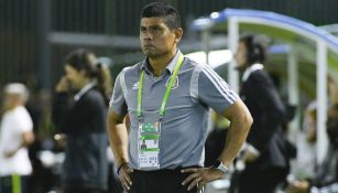 Marco Antonio Ruiz durante la Final ante Brasil