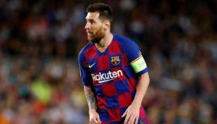 Messi en un juego del Barcelona