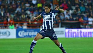 Ricardo Osorio en partido con Monterrey