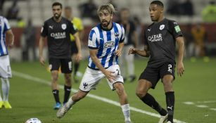 Pizarro en el juego de ante el Al-Saad