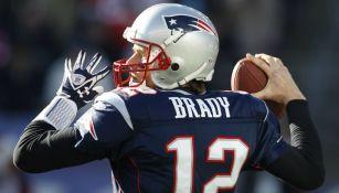 Tom Brady en partido con los Pats