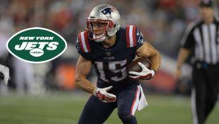 NFL: Chris Hogan firmó con los Jets, su cuarto equipo de la AFC Este