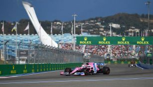 Checo Pérez se quedó cerca del podio en el Gran Premio de Rusia