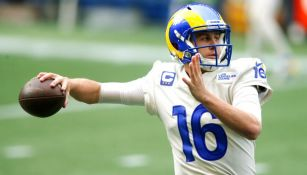 Jared Goff en derrota ante Seattle