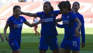 Liga MX Femenil: Cruz Azul consiguió su primera victoria al vencer a Necaxa