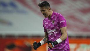 Raúl Gudiño tras ganar titularidad a Toño Rodríguez: 'El puesto se gana con buenas actuaciones'