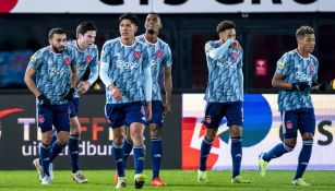Ajax en festejo de gol
