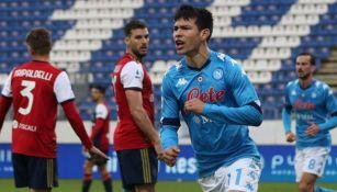 Lozano se ha ganado su lugar en el Napoli