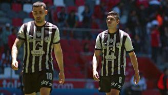 Báez y Gallegos se lamentan en un partido