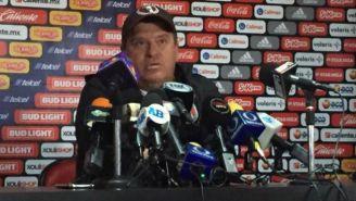 Miguel Herrera en conferencia de prensa