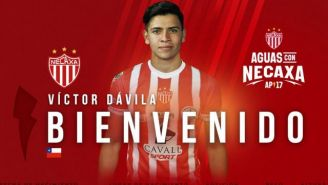 Víctor Dávila, nuevo jugador de Necaxa