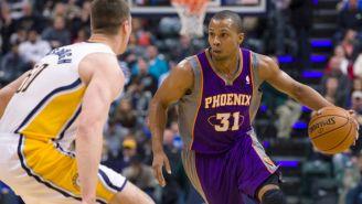 Telfair, durante un duelo con los Suns de Phoenix en 2012