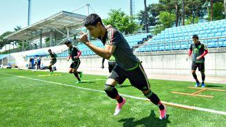 Uriel Antuna entrena con la Selección Mexicana Sub 20