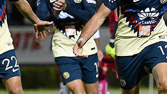 Aguilar celebra el gol del triunfo