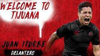 Imagen con la que Tijuana le dio la bienvenida a Juan Manuel Iturbe