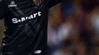 Guillermo Iriarte, durante un juego con FC Juárez