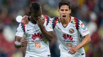 Darwin Quintero festeja su gol