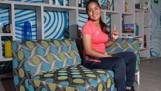 Layla García posa para la cámara