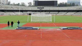 Estadio Olímpico Universitario, listo para el duelo contra Celaya