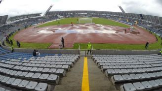 Estadio Universitario BUAP, en malas condiciones tras las lluvias