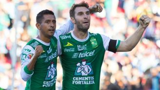 Boselli y Hernández celebran la victoria del León