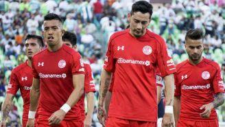 Toluca se lamenta tras empate contra Santos
