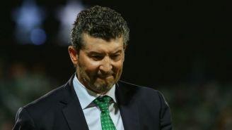 José Manuel de la Torre, tras un juego con Santos Laguna