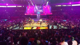 La Arena México durante la función del 84 Aniversario del CMLL