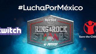 Logo de la Triple A para Ring & RockStars: Lucha por México