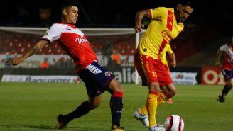Rodrigo Millar en el partido contra Veracruz