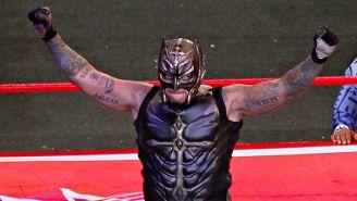 Rey Mysterio en Triplemanía XXIII