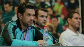 Alejandro Irarragori en conferencia de prensa en el Apertura 2017