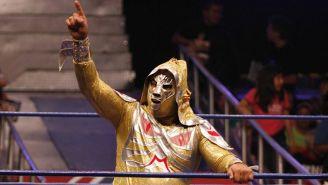 L.A. Park en una lucha en el CMLL