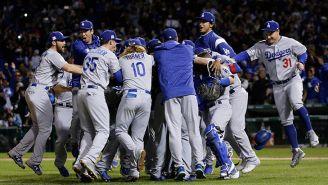 Dodgers celebra el pase a la Serie Mundial