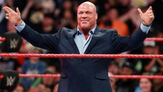 Kurt Angle en un Monday Night RAW