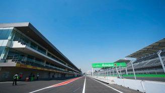 Así luce el AHR previo al GP de México