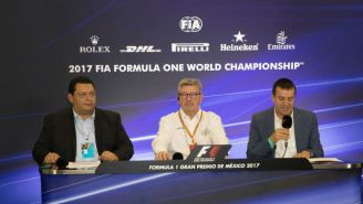 Ross Brawn en conferencia de prensa previo al GP de México