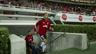 Rafa Márquez sale a la cancha para el juego contra Chivas