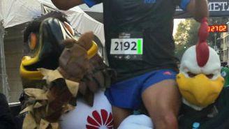 Missael Yedra cruzó en primer lugar pero fue descalificado por no usar el jersey de su equipo