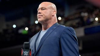 Kurt Angle en Monday Night RAW