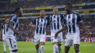 Monterrey festeja doblete de Funes Mori contra Atlas