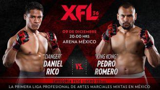 Una de las peleas que se llevarán a cabo en la Arena México
