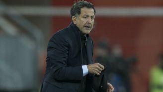 Juan Carlos Osorio, durante un partido del Tri