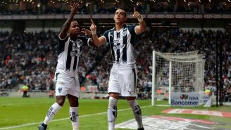 Rogelio Funes Mori celebrando un gol frente a Morelia