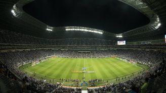 Juego entre Monterrey vs Tigres en el Estadio BBVA Bancomer