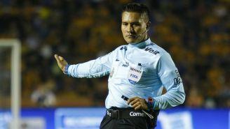 Fernando Guerrero, durante un juego del Apertura 2017