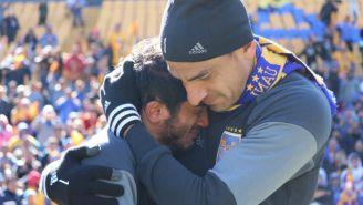 Damián Álvarez rompe en llanto tras ovación de la afición