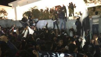 Aficionados de Rayados dedican una serenata a su equipo favorito