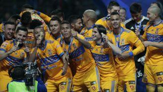 Tigres celebra el título del Apertura 2017